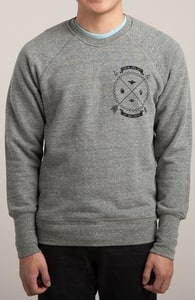 Native Coat of Arms: Threadless guys French Terry Pullover, Select Guys + Threadless Collection