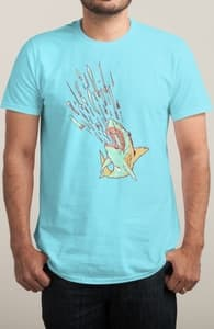 Shark Attack - Stacy James Eyles, Stacy's Designs + Threadless Collection