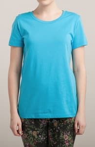 Cyan T-Shirt, M.T.'s Womens Designs + Threadless Collection