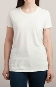 Natural T-Shirt, M.T.'s Womens Designs + Threadless Collection