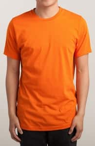 Orange T-Shirt, M.T.'s Mens Designs + Threadless Collection