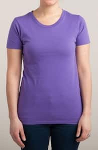 Purple T-Shirt, M.T.'s Womens Designs + Threadless Collection