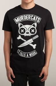 MURDERCATS, Tattoo Designs + Threadless Collection