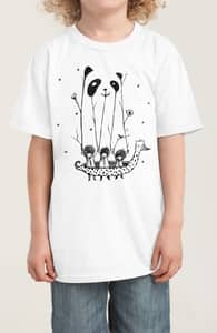 Fake Pandas Have More Fun, Lil' Girly + Threadless Collection