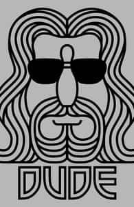 The Dude, The Big Lebowski Designs + Threadless Collection