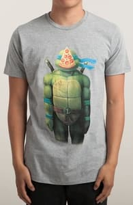 The Pizza Of Leonardo, New Tees + Threadless Collection