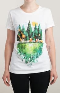 Geo Forest, New T-Shirts + Threadless Collection
