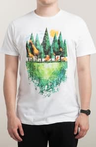 Geo Forest, New Tees + Threadless Collection