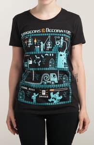 Dungeons & Decorators, New T-Shirts + Threadless Collection