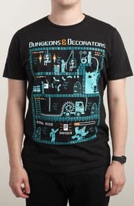 Dungeons & Decorators, New Tees + Threadless Collection
