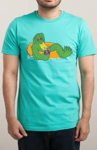 Laid Back Lagoon, Shop these designs to support Adam White + Threadless Collection