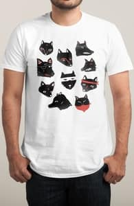 Zorro, Shop these designs to support Adam White + Threadless Collection