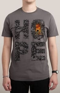 Hope - Ivan Vera & Enkel Dika, Shop these designs to support Adam White + Threadless Collection
