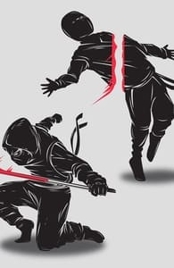 Ninja vs Ninja, Zip Hoodies From This Challenge + Threadless Collection