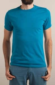 Turquoise T-Shirt, M.T.'s Mens Designs + Threadless Collection