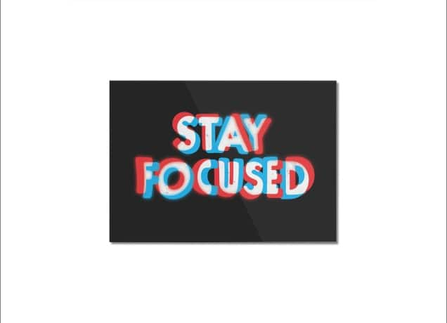 stay focused a cool t shirt by ezfl on threadless
