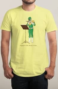 Dragonzord: A Flute Interlude in A Minor, Power Rangers Tees + Threadless Collection