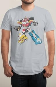Megazord, Power Rangers Tees + Threadless Collection