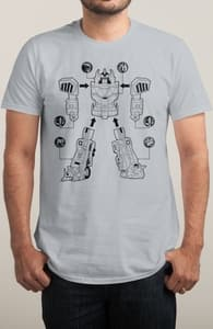 Assemble Megazord, Power Rangers Tees + Threadless Collection