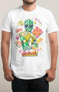 Stay in School, Power Rangers Tees + Threadless Collection