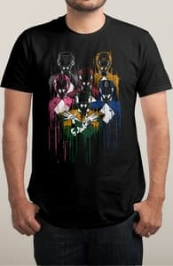 Power Unite, Power Rangers Tees + Threadless Collection