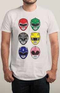 Retrograde, Power Rangers Tees + Threadless Collection
