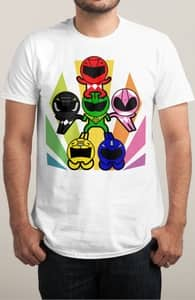 It's Morphin' Time, Power Rangers Tees + Threadless Collection