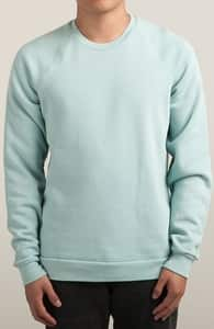 Light Grey Blue Sweatshirts, M.T.'s Crew Sweatshirt Designs + Threadless Collection