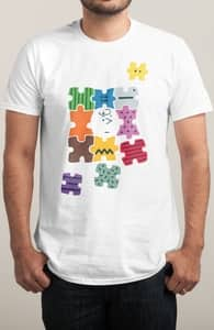Puzzled, Peanuts T-Shirts + Threadless Collection