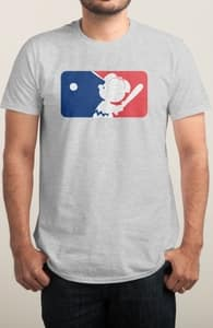 The Peanuts Baseball League, Peanuts T-Shirts + Threadless Collection