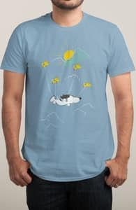 He Can Fly, New Peanuts Designs! + Threadless Collection