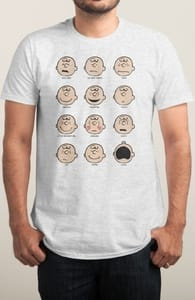 Charlie-moticons, New Peanuts Designs! + Threadless Collection