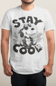 Stay Cool Like Snoopy, New Peanuts Designs! + Threadless Collection