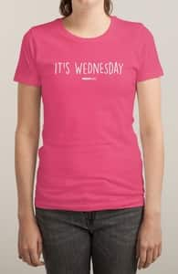 It's Wednesday, Mean Girls Tees + Threadless Collection
