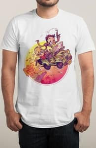A Cliff's End, The Uncharted Collection + Threadless Collection