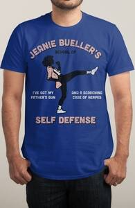 Jeanie Bueller's Class of Self Defense, The Ferris Bueller Collection + Threadless Collection