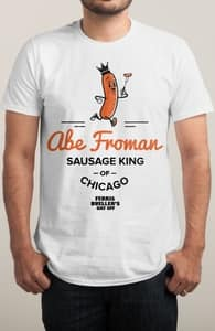 Abe Froman's Logo, The Ferris Bueller Collection + Threadless Collection