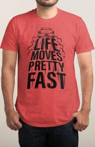 Life Moves Pretty Fast - Victor Felix, The Ferris Bueller Collection + Threadless Collection