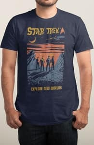 Explore New Worlds, The Star Trek Collection + Threadless Collection