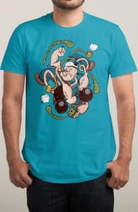 Spinach Got Me Like, The Betty Boop and Popeye Collection + Threadless Collection