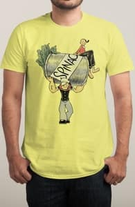 The Sailor Man with the Spinach Can, The Betty Boop and Popeye Collection + Threadless Collection