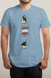 Lose! Spinach! Win! Repeat!, The Betty Boop and Popeye Collection + Threadless Collection