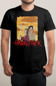 Hawk and Chick, The Bob's Burgers Collection + Threadless Collection