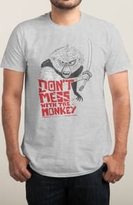 Don't mess with the monkey - Pepe Rodriguez, The Kubo and the Two Strings Collection + Threadless Collection
