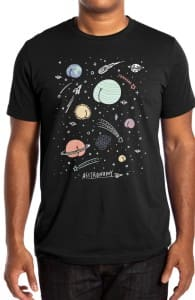 Asstronomy, Designs Printed from this Challenge + Threadless Collection