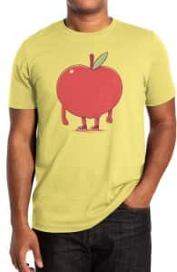 Apple Bottom, Designs Printed from this Challenge + Threadless Collection