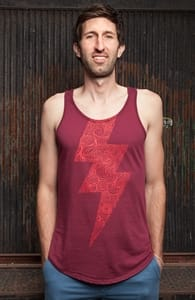 Clouds Within The Thunder, Guys Tank Tops + Threadless Collection