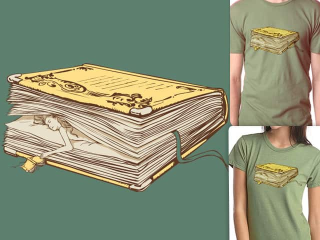 the pageholder by huebucket on Threadless