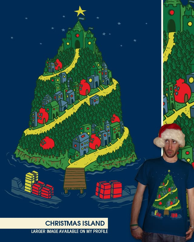 Christmas Island by WanderingBert on Threadless