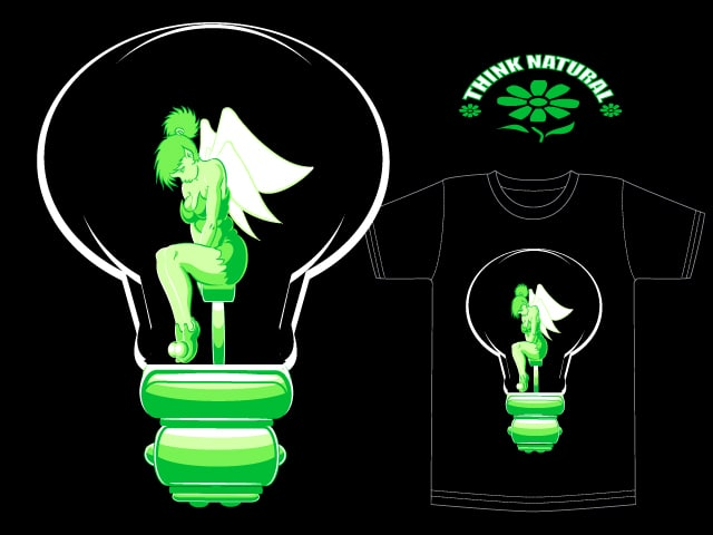 think natural by vintz on Threadless